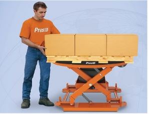 airbag activated pallet positioner