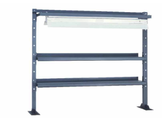 bench top shelving