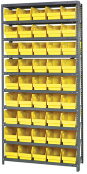 Bin Shelving With Extra Tall Binss
