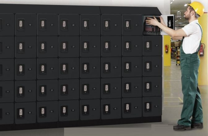 box style designer lockers