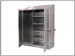 Stainless Steel Janitor Cabinets