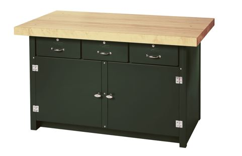 cabinet workbench combo