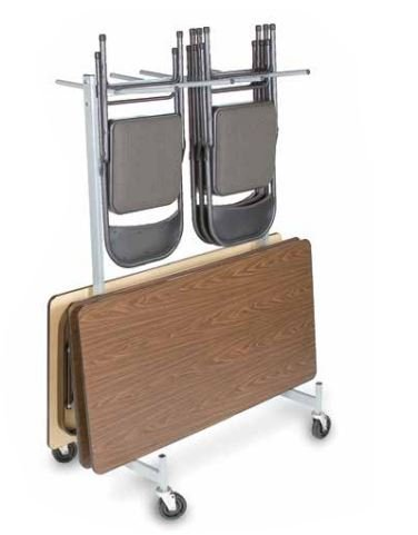 chair table storage cart