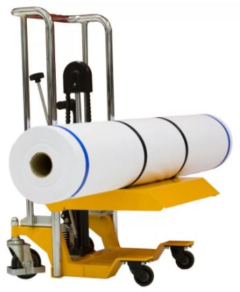 compacted roll lifter