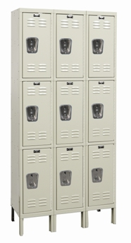 Corrosion Resistant Triple Tier Locker