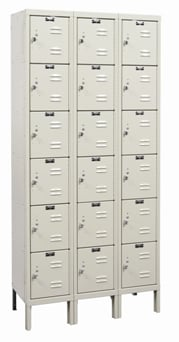 Corrosion Resistant Six Tier Box Lockers
