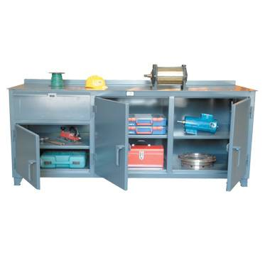 Countertop Kingcab Heavy Duty Cabinets With Multi Storage  sc 1 st  A Plus Warehouse & Heavy Duty Cabinets With Multi Storage - Metal Storage Cabinets