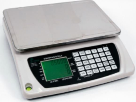 counting scales with numeric keypad
