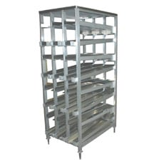 156 Can Capacity FIFO Can Rack