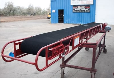 Heavy Duty Dry and Wet Use Aggregate Conveyor