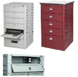Deluxe Laptop Lockers · Economy Mobile Computer Cabinet  sc 1 st  A Plus Warehouse & Computer Cabinets Computer Security Cabinets - A Plus Warehouse