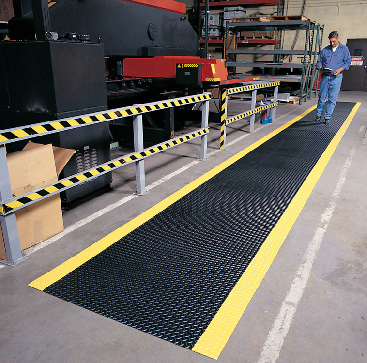 diamond plate runner matting