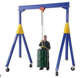 easy to assemble portable gantry