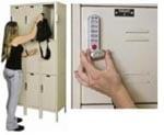 Triple Tier Digitech Electronic Access Lockers