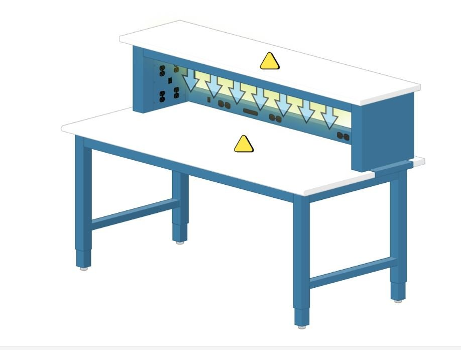 Electronic Technician Work Benches : Great variety of electronic work benches are available