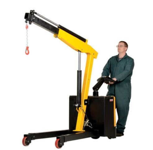electric power floor crane
