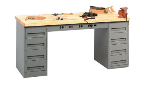 electronic workbenches with drawers