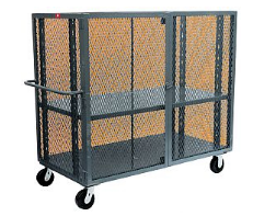 enclosed security cage