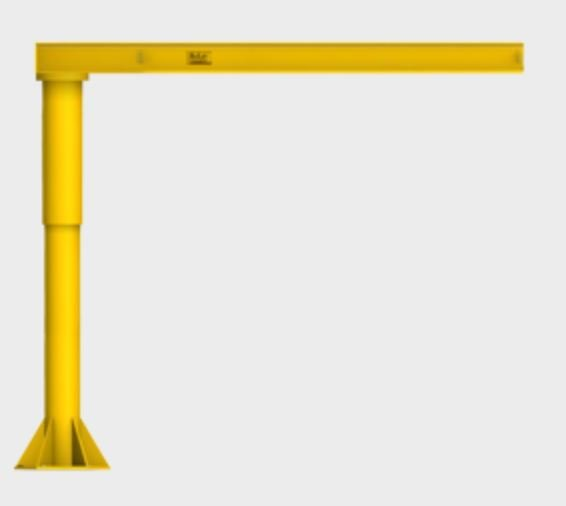 extra heavy duty foundationless jib