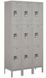 Extra Wide Triple Tier Lockers