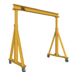 fixed height gantry crane