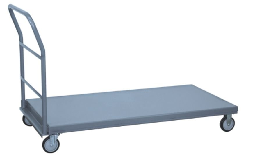 flush lip platform trucks