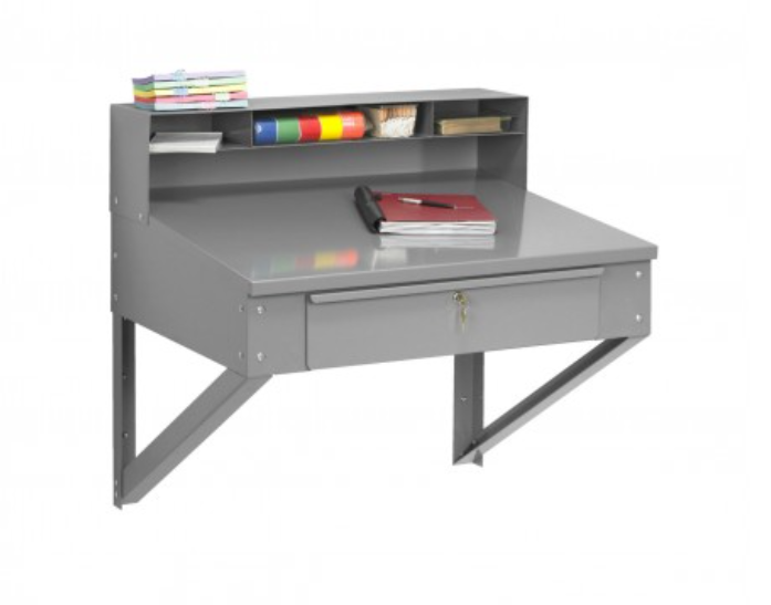 foreman wall mounted desk