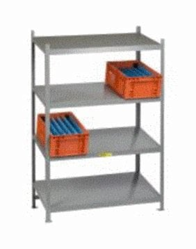 Welded Gravity Flow Shelving