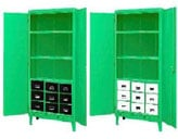 Green Monster Steel Cabinets