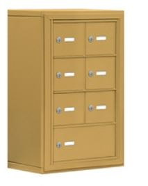 gold cell phone and tablet locker