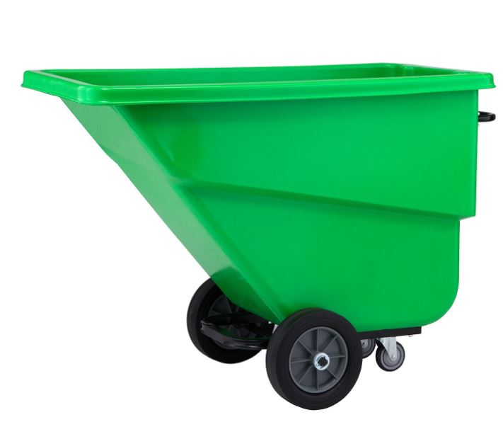 green machinoe tilt truck
