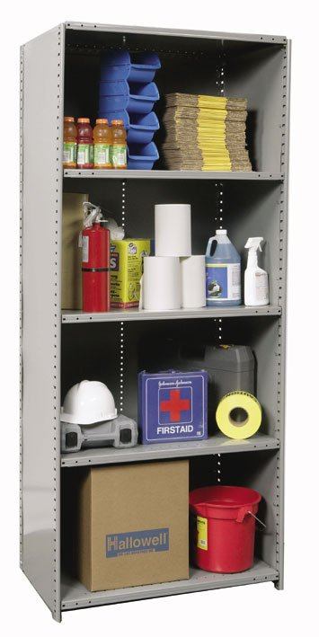 Hallowell Extra Heavy Duty Closed Shelving