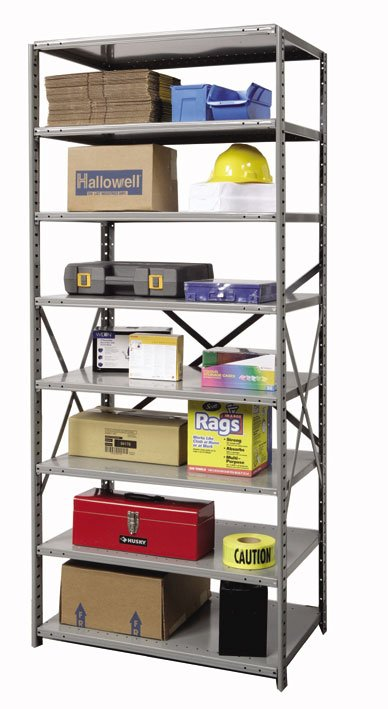 Hallowell Hi Tech Heavy Duty Open Shelving