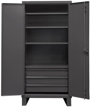 heavy duty cabinet with 3 drawers