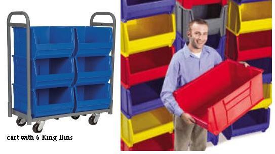 super size akro bins plastic storage bins stackable bins