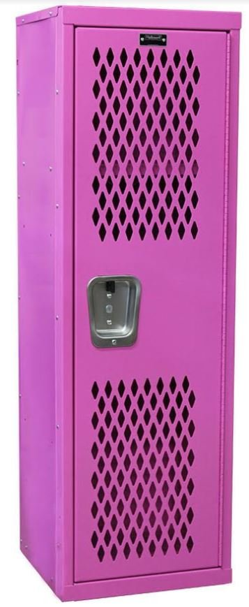 hometeam pink locker