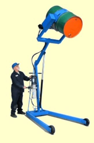 hydra lift drum positioner