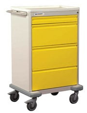 Deluxe Four Drawer Isolation Cart