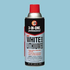 3 In One  Professional White Lithium Grease