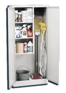 Economical Janitorial Supply Cabinet