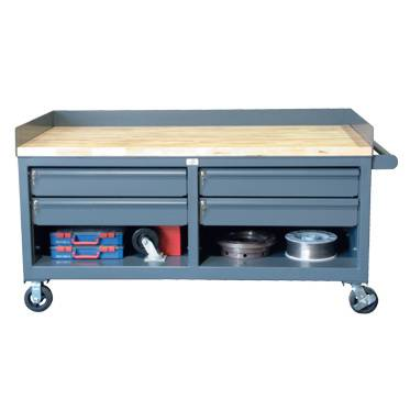 StrongHold Heavy Duty Mobile Cabinet Workbenches
