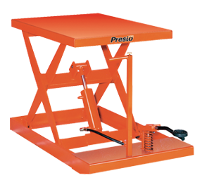 light duty manual scissor lift