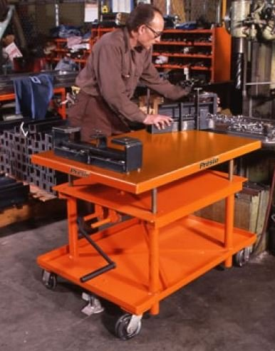 mechanical post lift tables