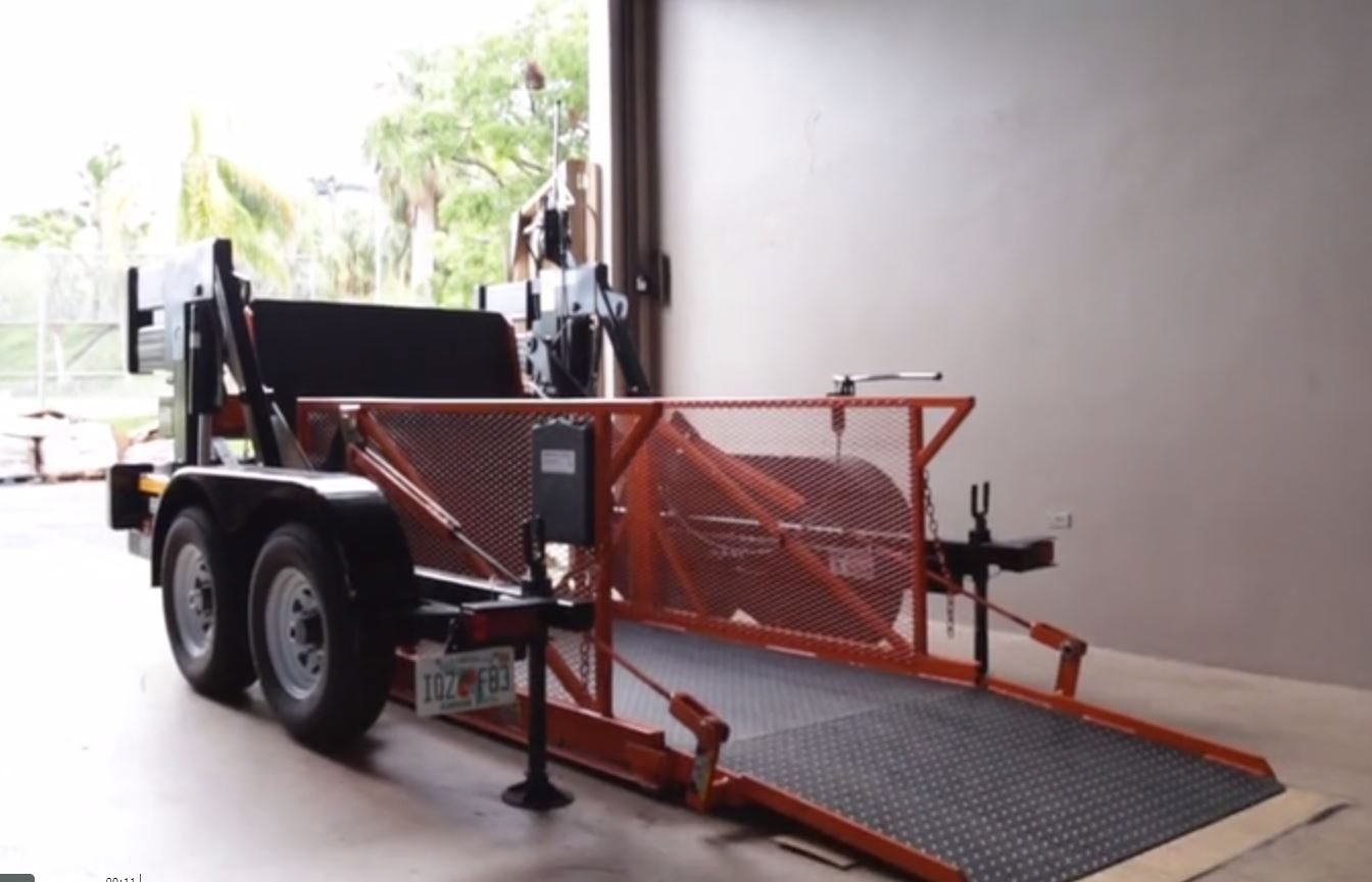 mobile dock lift