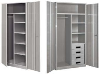Deluxe Metal Wardrobe Cabinets And Other Wardrobe Cabinets