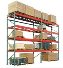 California Stock Pre Configured Pallet Racks With Wire Decks