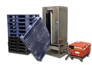 Stainless Steel Pallet Cleaner