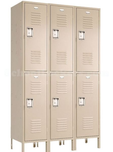penco double tier locker new style