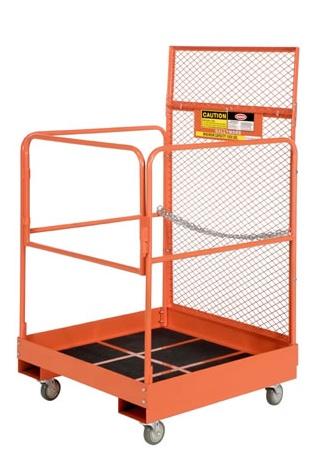 forklift personnel platforms 500 lb capacity