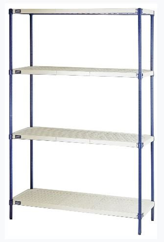 plastic shelving one box